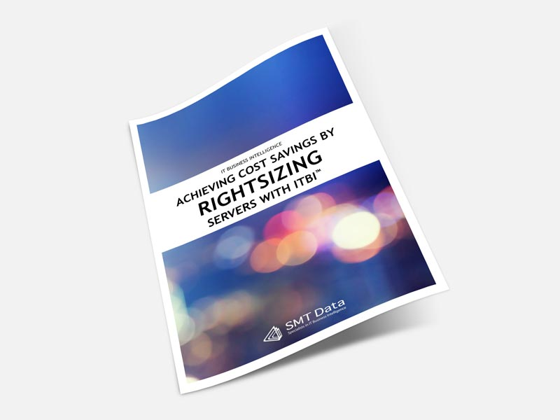 Rightsizing Servers case study brochure