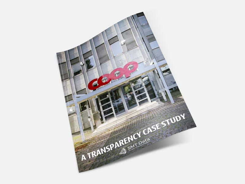 Coop transparency case study brochure