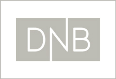 DNB logo black and white
