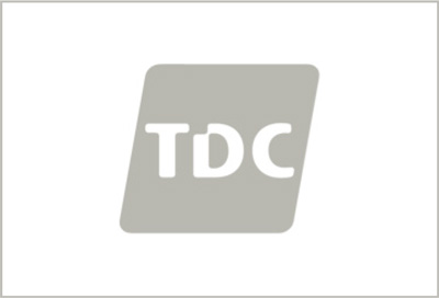 TDC logo black and white