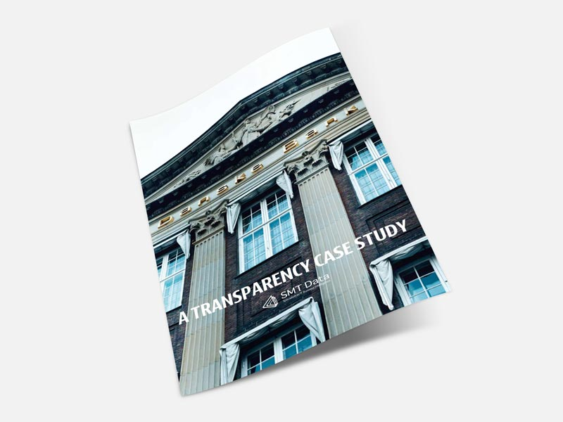 Danske Bank transparency case study brochure