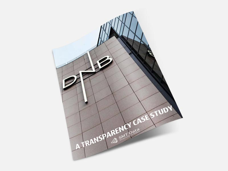 DNB transparency case study brochure