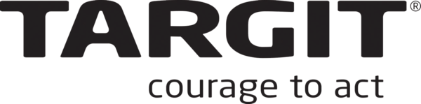 targit logo, courage to act, big