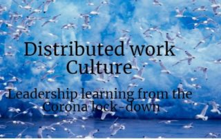 Distributed work culture title slide