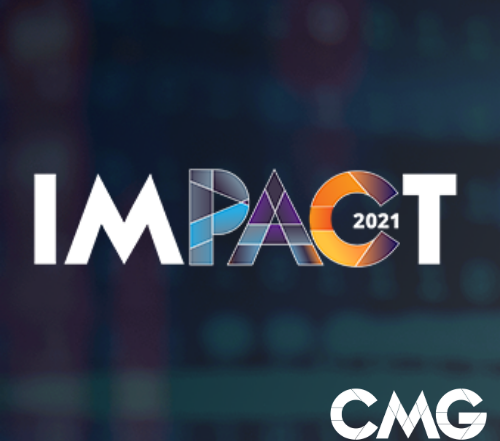 CMG Impact 2021 online conference logo