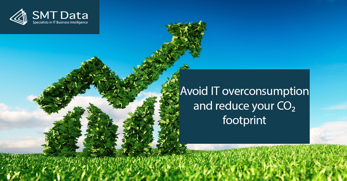 Avoid IT overconsumption and reduce your CO2 footprint title slide