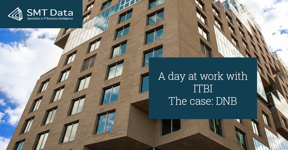 Blog front side a day at work with ITBI the case of DNB